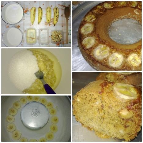 montagem bolo